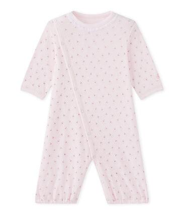 Baby-Mädchen-Overall mit 2-in-1-Effekt
