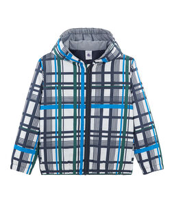 Warme Kinder-Windjacke unisex weiss Marshmallow / weiss Multico