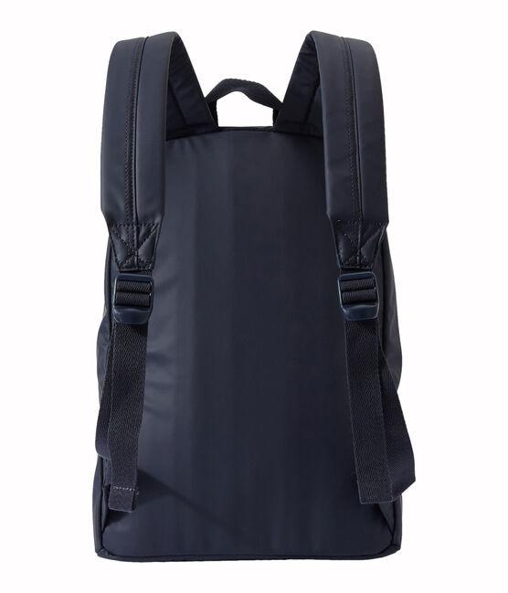 Wasserundurchlässiger Jungen-Rucksack blau Smoking / weiss Marshmallow