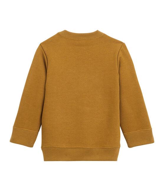 Baby-Sweatshirt aus Molton für Jungen braun Cuivre