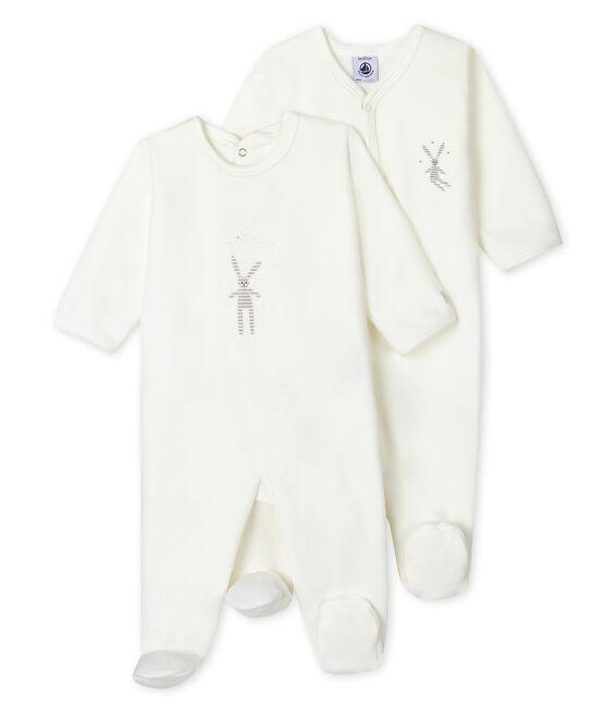 Zweier-Set Baby-Strampler aus Nicki für Mädchen lot .
