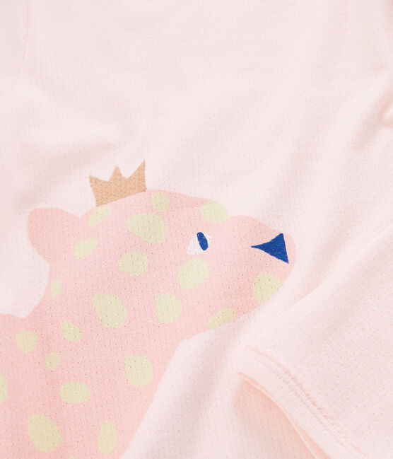 Rippstrick-Pyjama für Mädchen FLEUR