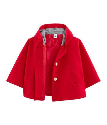 Cape für Mädchen rot Terkuit