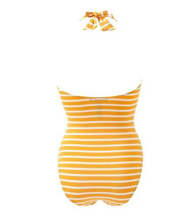 Gestreifter Damen-Badeanzug