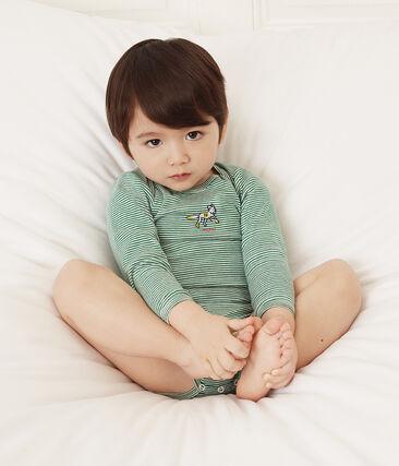 Set mit 5 langärmligen Baby-Bodys für Jungen lot .