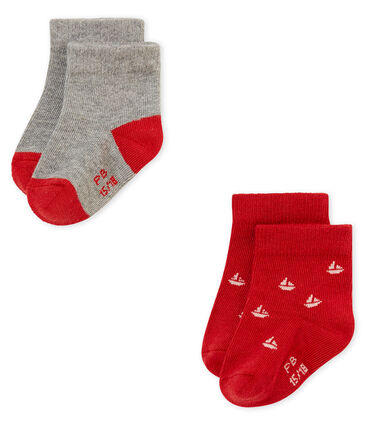 Baby Jungen Socken im 2er-Set