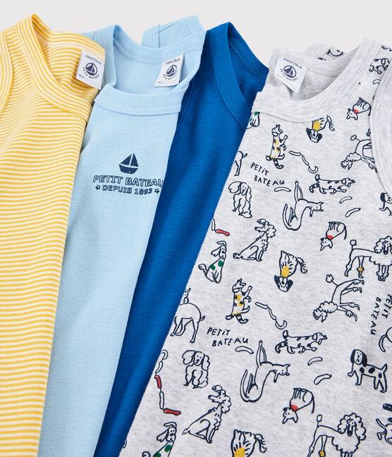 Überraschungstüte mit 4 Unterhemden für Jungen lot .