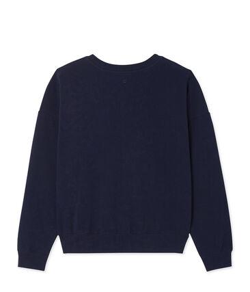 Damen-Sweatshirt aus Baumwoll-Stretch