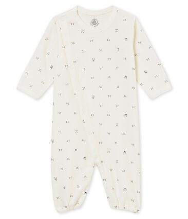 Unisex Baby Overall aus gedoppeltem Jersey mit Print