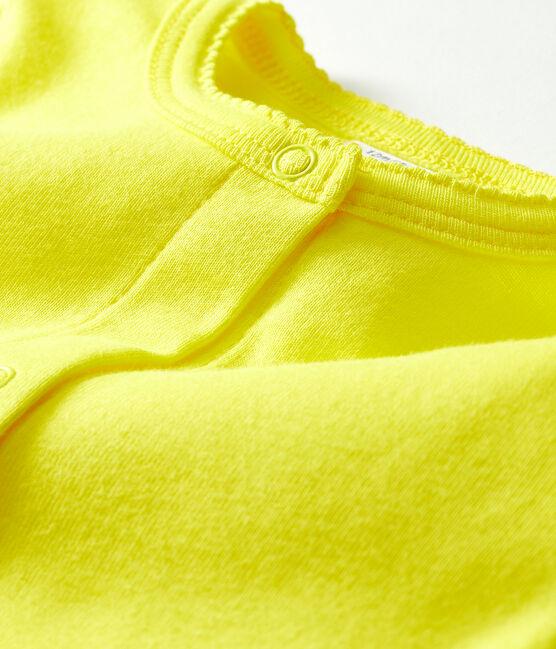 Leichter Baby-Mädchen-Cardigan gelb Eblouis