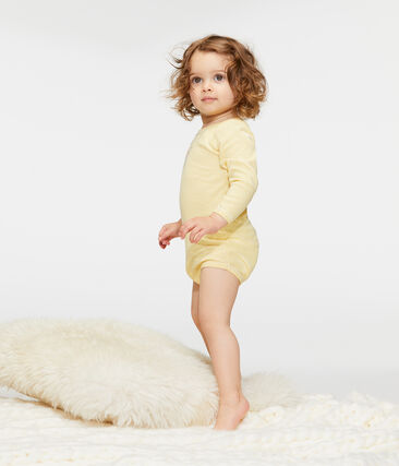 Set mit 5 langärmligen Baby-Bodys für Mädchen lot .