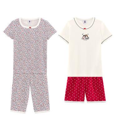 2er-Set Pyjamas für kleine Mädchen