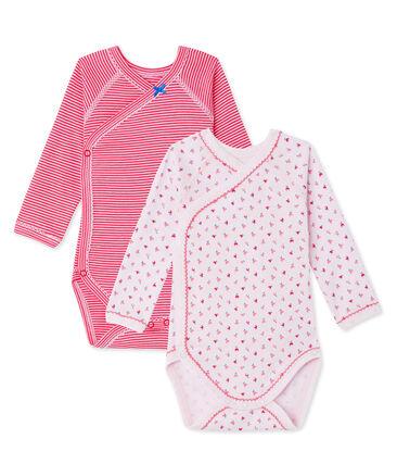 Baby-Mädchen-Bodys für Neugeborene im 2er-Set