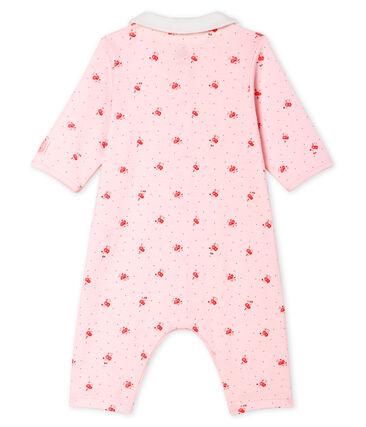 Baby-Strampler ohne Fuß aus Rippstrick