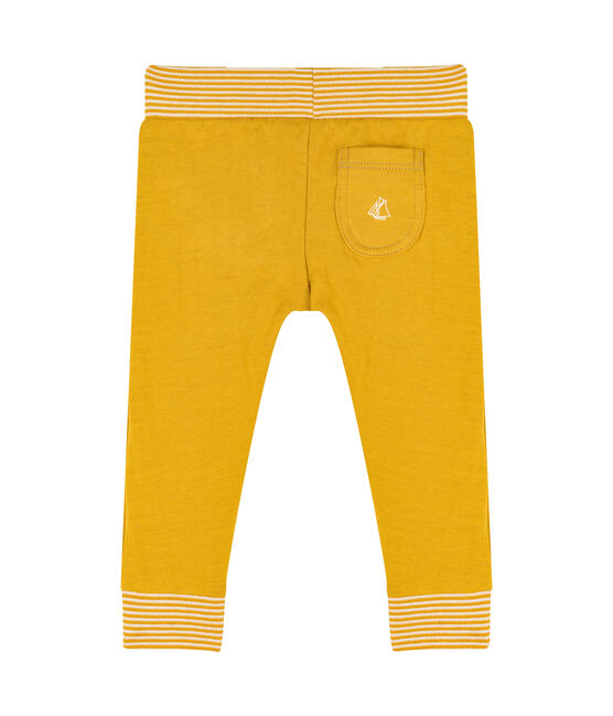 Baby-Hose aus Doppeljersey gelb Boudor
