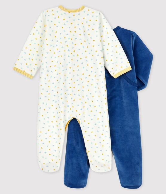 2er-Set Baby-Strampler aus Samt lot .