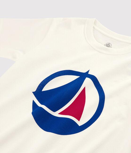 Damen-/Herren-T-Shirt Made in France weiss Marshmallow