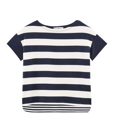 Kurzärmeliges grafisches t-shirt damen