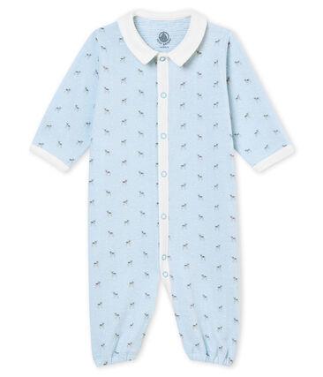 Baby Jungen Overall aus gedoppeltem Jersey mit Print