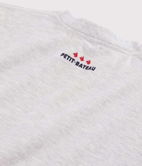 Damen-/Herren-T-Shirt grau Beluga