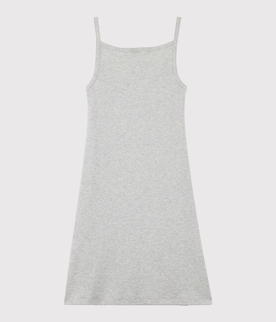 Damen-Trägerkleid grau Beluga