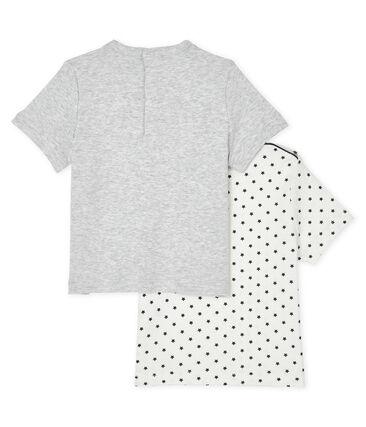Set aus 2 Baby-T-Shirts für Jungen lot .