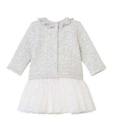 Baby Mädchen Kleid mit langen Ärmeln