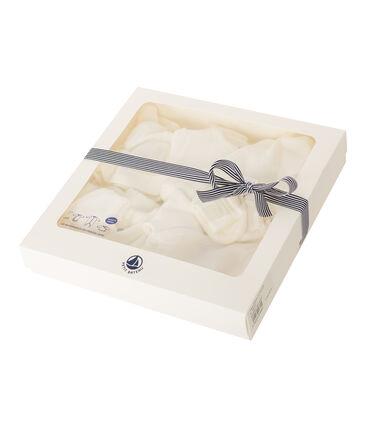 Set mit Geburtsgeschenken aus angerautem, extra warmem Bouclé-Frottier