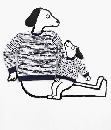 Unisex-Baby-Sweatshirt von Jean Jullien MARSHMALLOW/DOTTIES