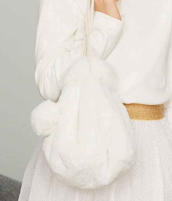 Kinder-Tasche Mädchen weiss Marshmallow