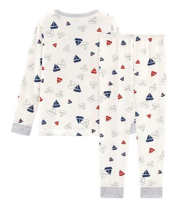Molton-Pyjama für kleine Jungen