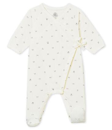 Unisex Baby Strampler mit Wickelöffnung