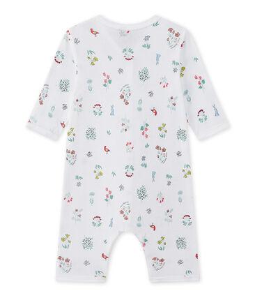 Bedruckter Baby-Mädchen-Strampler ohne Fuß