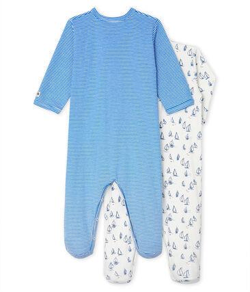 2er-Set Schlafstrampler für Baby Jungen aus Rippstrick lot .