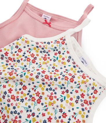 2er-Set Trägerhemden für kleine Mädchen