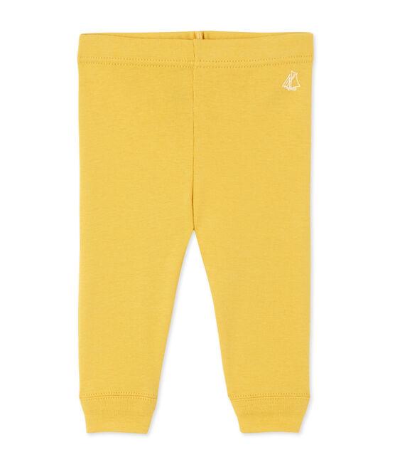 Baby-Mädchen-Leggings gelb Ocre
