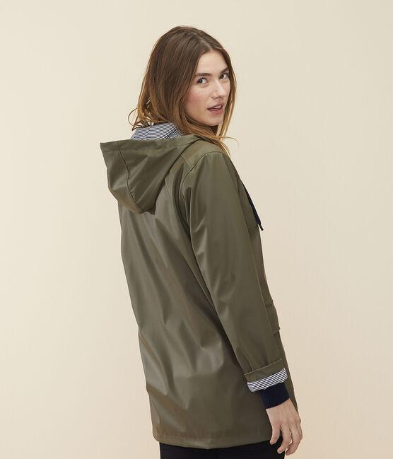 Damen-/Herren-Regenjacke grün Litop