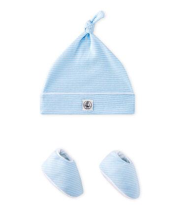 Set aus Baby-Mütze und -Schuhe für Neugeborene