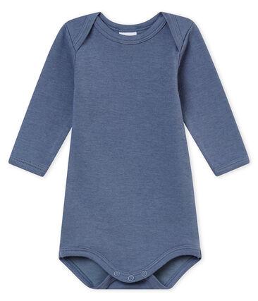 Baby Jungen Langarmbodys blau Turquin