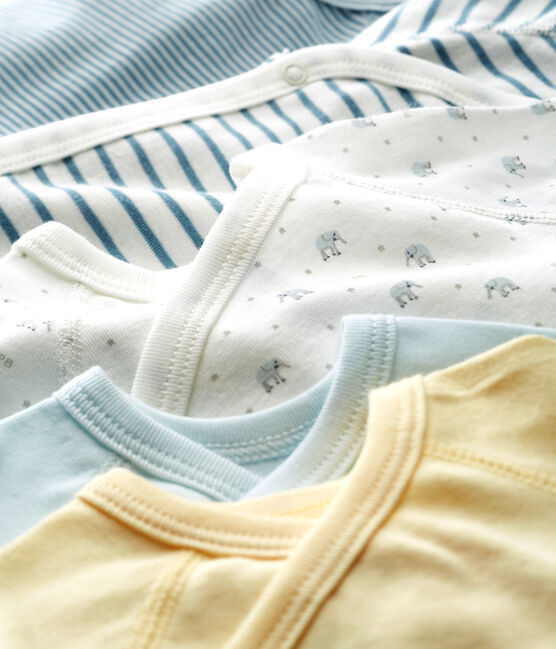 5er-Set Baby-Bodys für neugeborene Jungen lot .