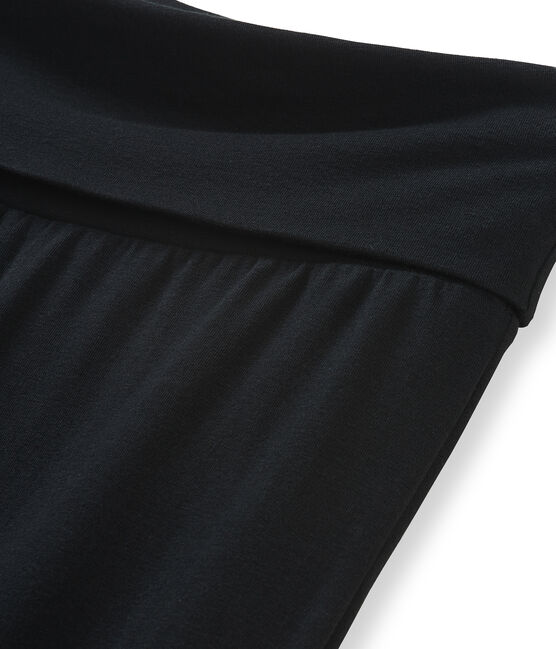 Damenstrickhose schwarz Noir