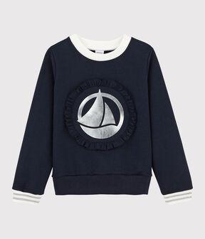 Kinder-Sweatshirt für Mädchen SMOKING
