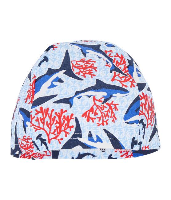 Bademütze mit UV-Schutz und LSF 50+ für kleine Jungen lot .