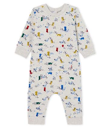 Gemusterter Baby-Langoverall für Jungen