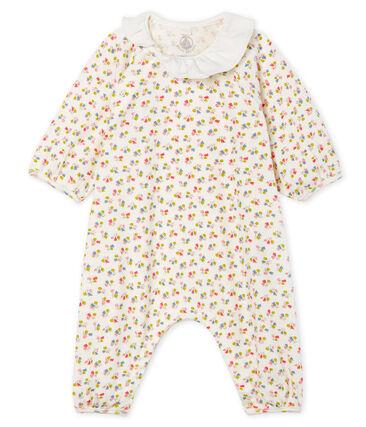 Baby-Kurzoverall aus Rippstrick für Mädchen