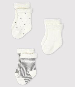 Trio Baby-Strick-Socken. lot .