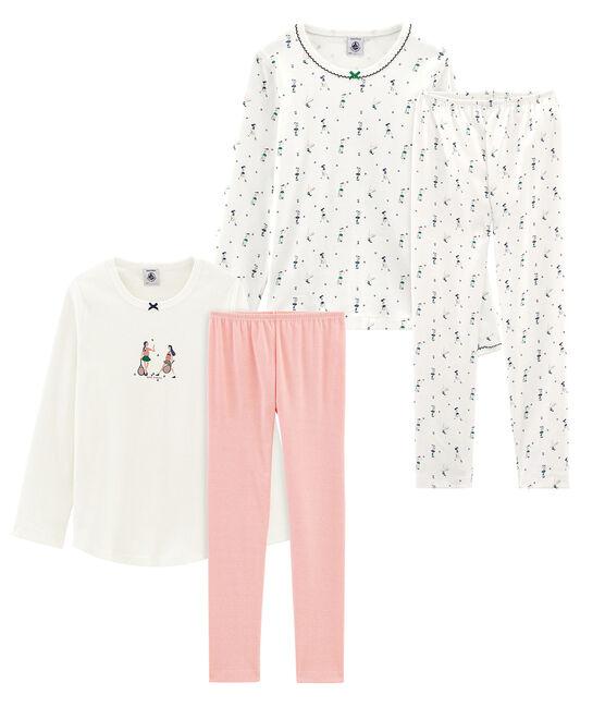 2er-Set Pyjamas für kleine Mädchen lot .