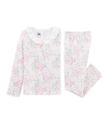 Pyjama aus Doppeljersey für kleine Mädchen