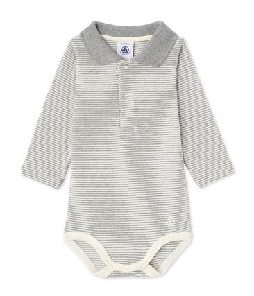 Baby-Jungen-Body mit Milleraies-Ringelmuster