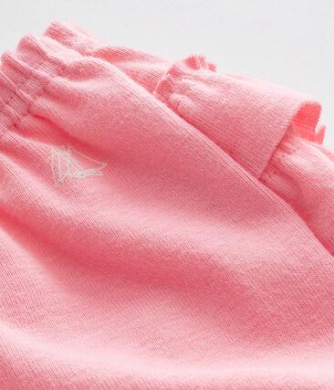Baby-Mädchen-Bloomers rosa Petal